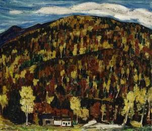 Marsden Hartley, Maine Landscape, Autumn No. 13
