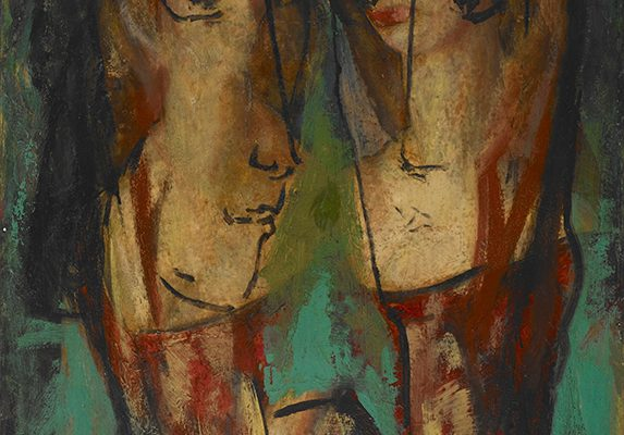 Alfred H. Maurer, Two Heads
