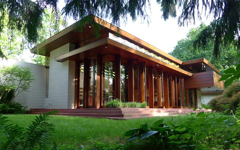 Frank Lloyd Wright Wilson Bachman House exterior