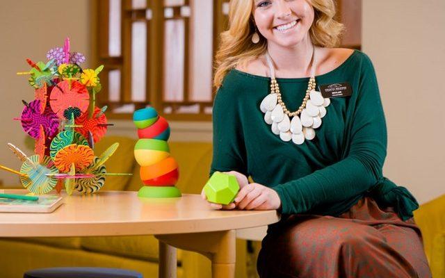 Skylar Edwards: Crystal Bridges Volunteer