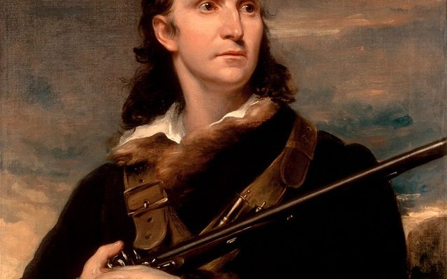 John James Audubon, 1826 portrait by John Syme, commissioned by William Home Lizars.