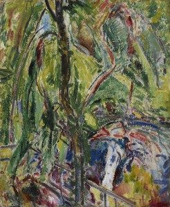 Alfred H. Maurer (1868-1932) Landscape 1911 Oil on gessoed board