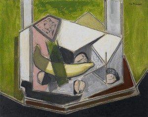 Alfred H. Maurer (1868-1932) Cubist Still Life n.d. Oil on board