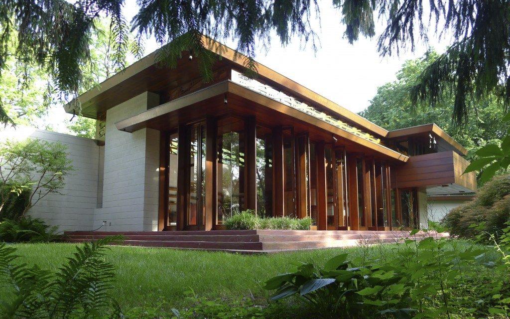 Bachman-Wilson House designed by Frank Lloyd Wright. Photo: TarantinoSTUDIO © 2014