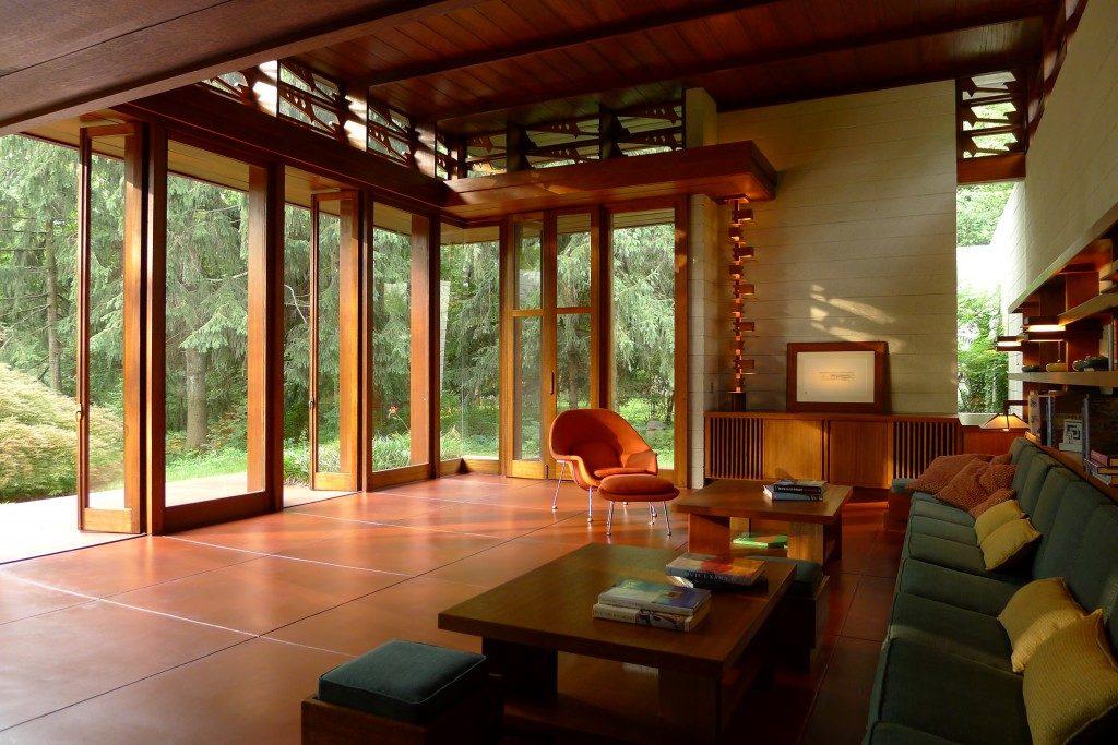 Bachman-Wilson House designed by Frank Lloyd Wright. ©Tarantino Studio 2013