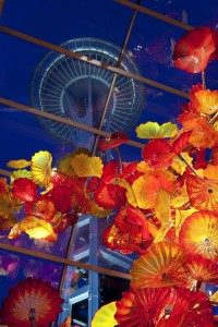 Dale Chihuly, Glasshouse, 2012, Chihuly Garden and Glass, Seattle, Washington.