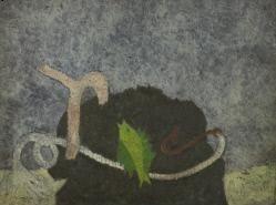 "Theodoros Stamos ""Doros,"" 1945 Oil on panel"