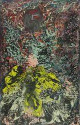 "Janet Sobel ""Hiroshima,"" ca. 1948, Oil on canvas"