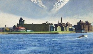 Edward Hopper Blackwell's Island, 1928 Oil on canvas Crystal Bridges Museum of American Art, Bentonville, Arkansas. Photo © Christie's Images.