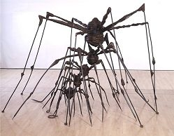 """Louise Bourgeois """"The Nest,"""" 1994, steel."""