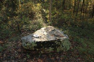 "Robert Tannen ""Grains of Sand"" Native stone and cast aluminum"