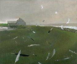 Andrew Wyeth (1917-2009) Airborne 1996 Tempera on panel Crystal Bridges Museum of American Art