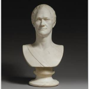 1.Giuseppe Ceracchi, Alexander Hamilton, 1794. Marble, 25 x 12 x 14 in. Crystal Bridges Museum of American Art.