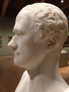 Giuseppe Ceracchi, Alexander Hamilton, 1794 (detail).