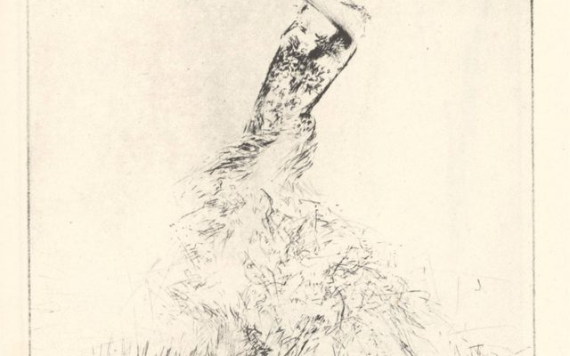 An etching by Troy Kinney, from his book The Etchings of Troy Kinney, 1929.