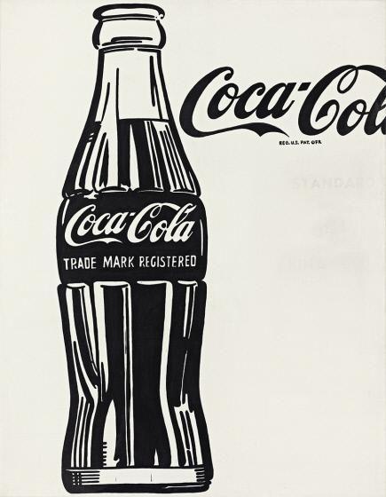 Andy Warhol (1928 - 1987)<br />Coca-Cola (3)<br />1962<br />Casein on canvas<br />Crystal Bridges Museum of American Art, Bentonville, Arkansas