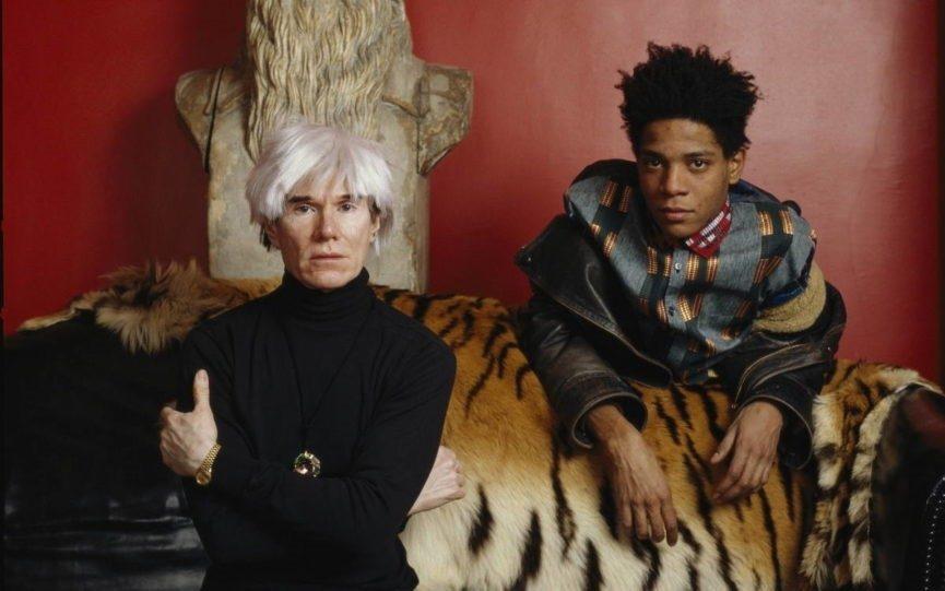Jean-Michel Basquiat & Andy Warhol by Lizzie Himmel