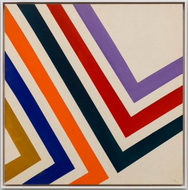 Sam Gilliam, born 1933 Swing 64, 1964 Acrylic on canvas Courtesy David Kordansky Gallery
