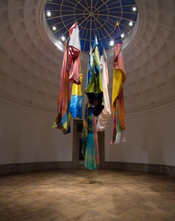 From Sam Gilliam: A Retrospective, 2005, Corcoran Gallery of Art, Washington, D.C., Installation view