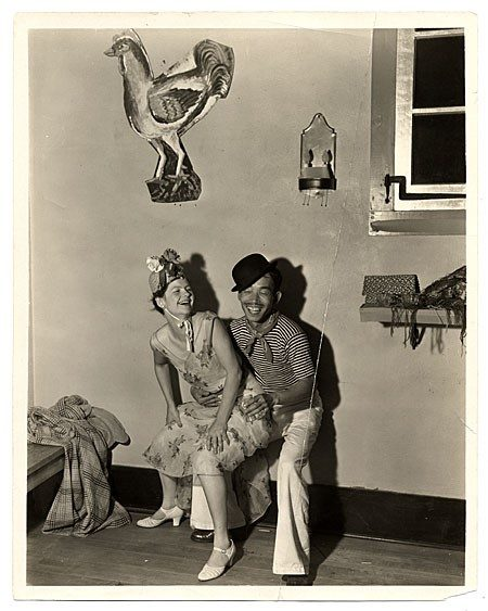 Yasuo Kuniyoshi and Katherine Schmidt at a costume party in their house in 1925, photograph by Stowall Studios. Rosalie Berkowitz collection of photographs, Archives of American Art, Smithsonian Institution