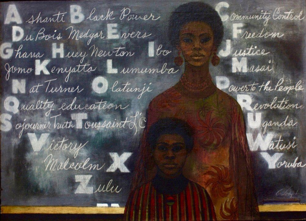 Joseph Cliff, born 1922 Blackboard, 1969 Oil on canvas Aaron Galleries, Glenview, Illinois