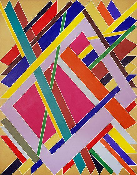 Trane Williams, born 1942 Trane, 1969 Acrylic on canvas The Studio Museum in Harlem, New York.