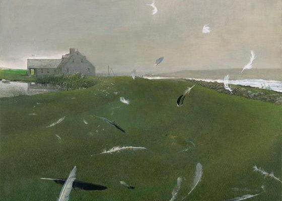 Andrew Wyeth, Airborne