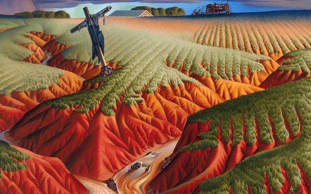 Alexandre Hogue, Crucified Land