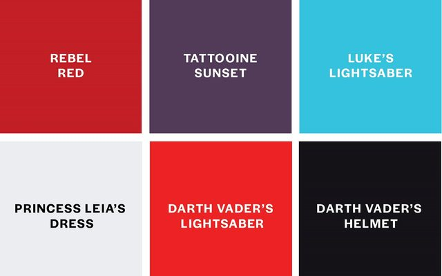 Color-fy your favorite movie chart