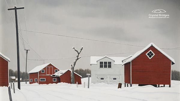 Daylight at Russell's Corners by George Ault
