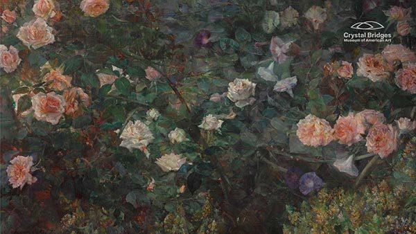 Rose Garden by Maria Oakey Dewing