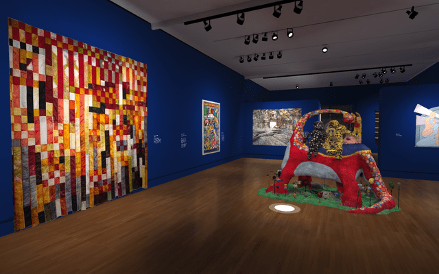 Gallery view of State of the Art 2020 exhibition