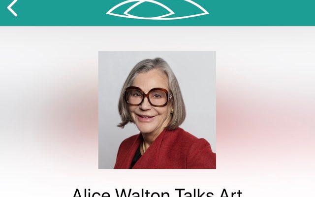 Alice Walton Talks Art audio tour screen shot from mobile app