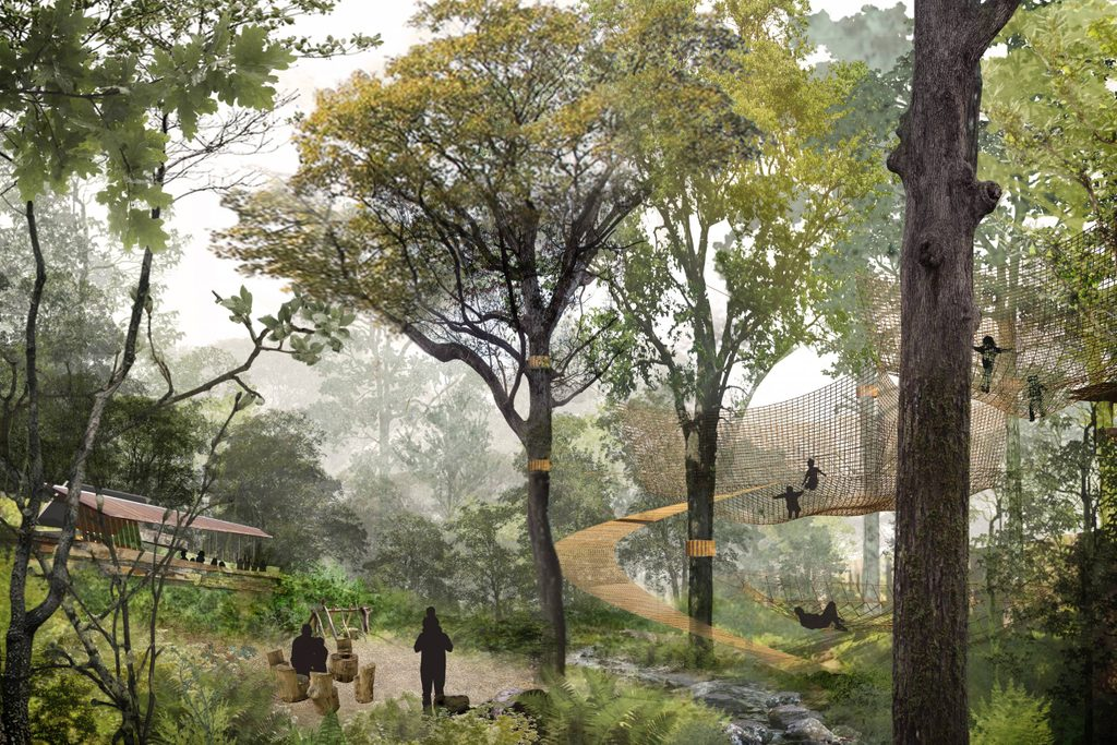 Convergence: An Outdoor Play Space concert rendering