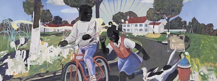 Kerry James Marshall Our Town