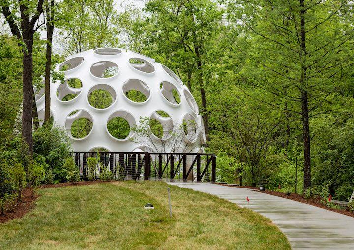 Fuller dome at Crystal Bridges