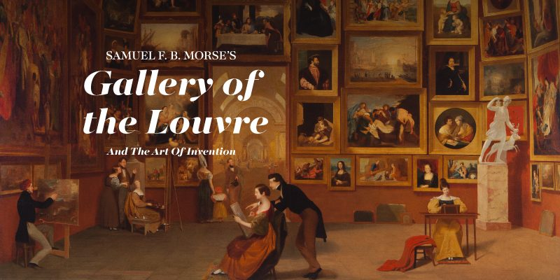 Samuel B. Morse's Gallery of the Louvre