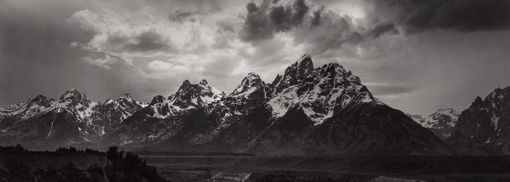 Ansel Adams photo of Grand Tetons