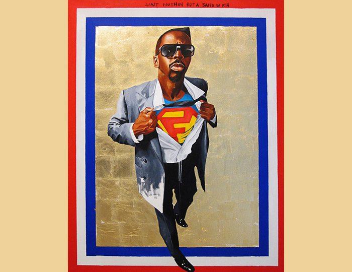 Fahamu Pecou, Nunna My Heroes: After Barkley Hendricks' 'Icon for My Man Superman'