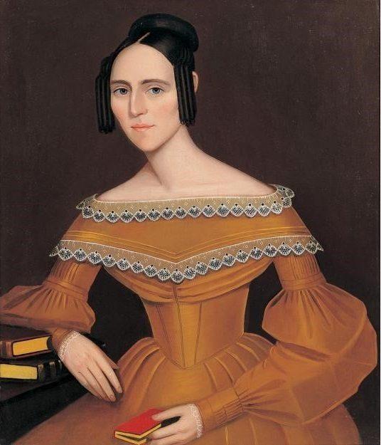 Ammi Phillips, Portrait of Woman