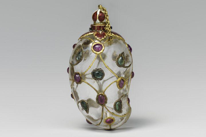 Maker Unknown, Mango-Shaped Flask