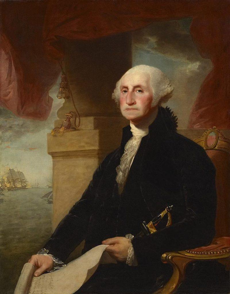 Gilbert Stuart, George Washington
