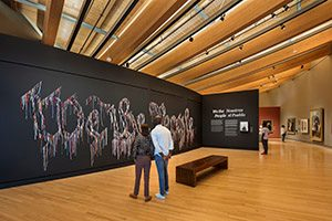 Early American Gallery with We the People by Nari Ward
