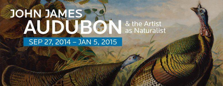 John James Audubon & the Artist as Naturalist