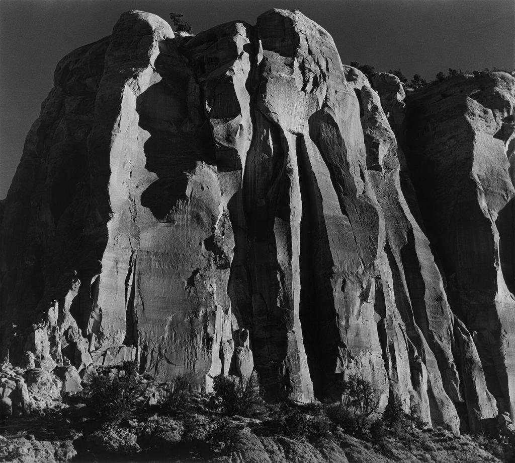 Ansel Adams, The Enchanted Mesa, near Acoma Pueblo, New Mexico