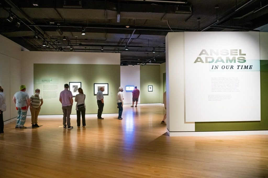 Ansel Adams In Our Time exhibition