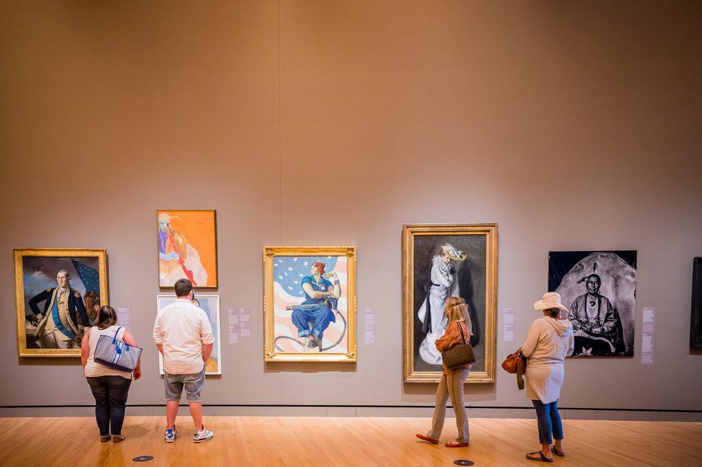 Early American Art Galleries at Crystal Bridges Museum of American Art