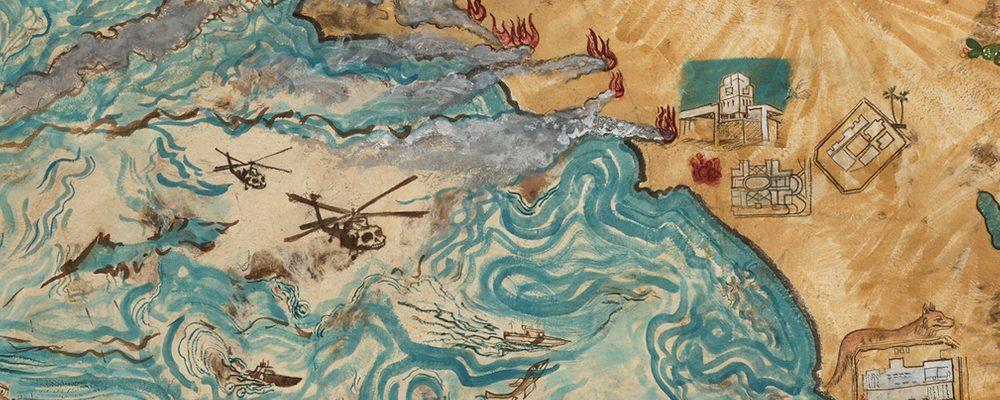 Sandy Rodriguez, De las Señales y Pronósticos and I.C.E. Raids de Califas (detail)