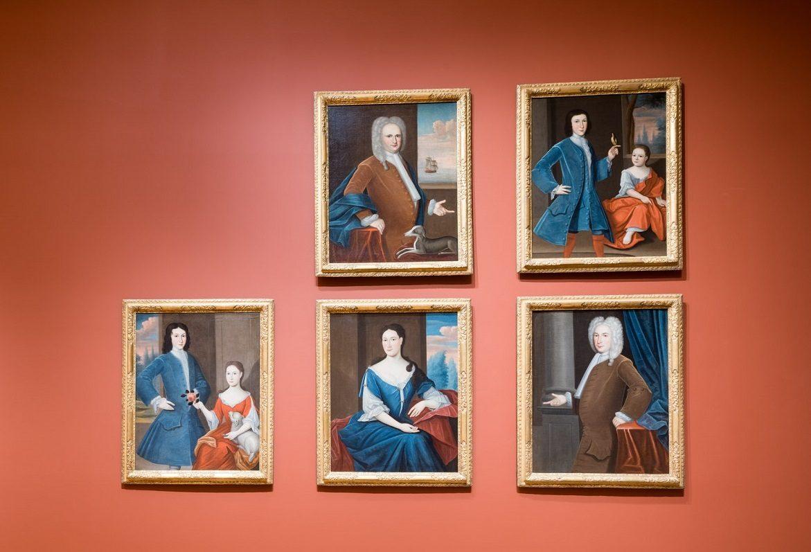 Gerardus Duyckinck I, Portraits of the Levy-Franks family