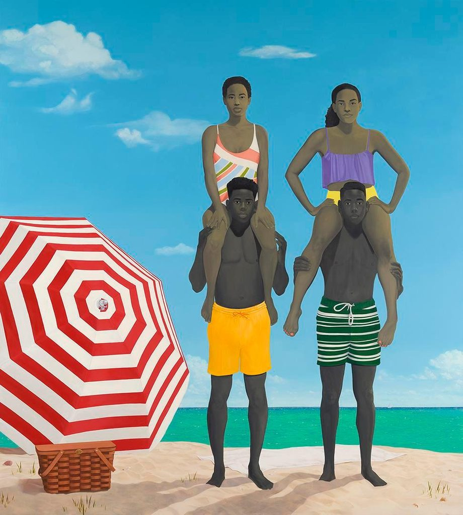 Amy Sherald, Precious jewels by the sea